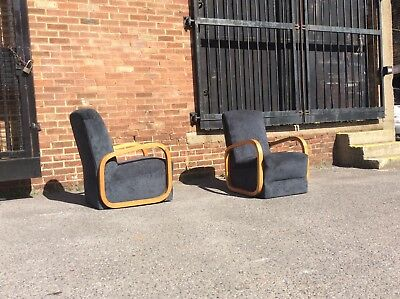 1930's armchairs/Deco armchairs/vintage armchairs/