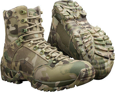 Magnum Sidewinder Multicam Combat Hunting Fishing Camping Boots Camo Army Vibram