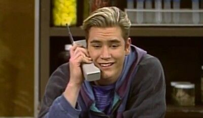 Vintage 90's Zack Morris Special Motorola Thick Brick Cell Phone RARE Halloween
