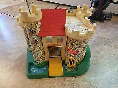 Fisher Price Play Family Castle #993 - vintage 1970s