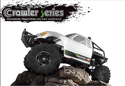 AU Store Remo hobby 2.4G 1/10 RC 4WD ORV Brushed Rock Crawler TRAIL RIGS Truck