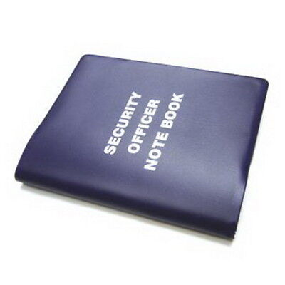 Small Security Notebook, NSW Powers of Arrest, 126 lined pages, navy, black