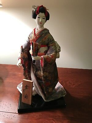 Geisha Doll From Japan