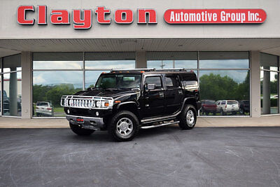 2003 Hummer H2 Base Sport Utility 4-Door 2003 Hummer H2 Luxury 6.0L V8 AWD Local Trade Clean Carfax DVD's New Tires!