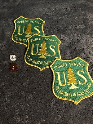 Us Forest Service Department Of Agriculture Patches And Pins
