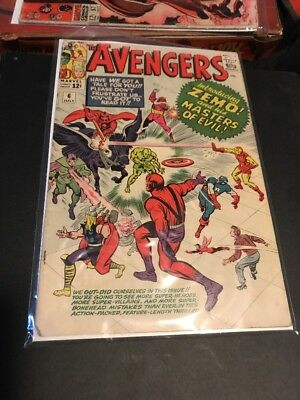 The Avengers # 6 Lower Grade Comic