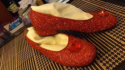 little girl's replica ruby slipper/size 5.