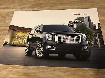 2017 GMC YUKON 42-page Original Sales Brochure