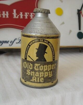Old Topper Crowntainer Beer Can