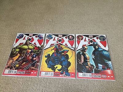 Avengers Versus X-men Comic Book Lot 6 comics 1, 4, 9, 10, 11 & 12
