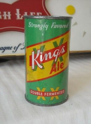 King's Ale Flat Top Beer Can  -  USBC 87-40