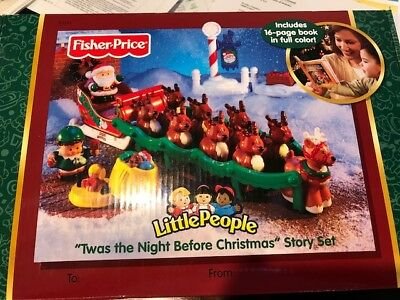 fisher price- Twas the night before christmas-2004