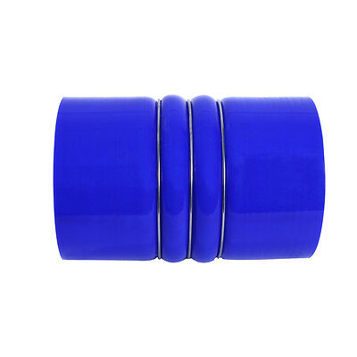 CAC Hose Charge Air 784 Series Cold Side ID 63.5mm Lengh 152.4mm Ply 4 Blue
