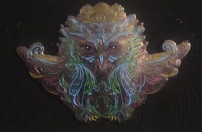 Electric Forest- Owl Pin LARGE Limited edition Sold Out