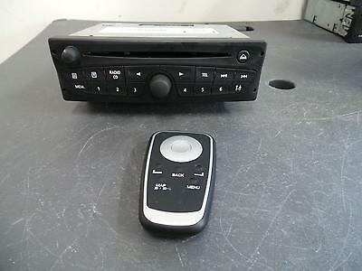 Renault Kangoo Radio/cd/dvd/sat/tv Cd Player, W/ Mp3/bluetooth, X61, 10/10- 10 1