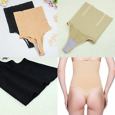 Body Shaper Thong G String High Waist Tummy Control Invisible Underwear Thong UK