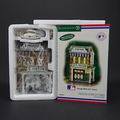 Dept. 56 Chicago White Sox  #56.59232 Tavern Christmas in the City