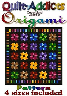 ORIGAMI - MULTI SIZED Quilt-Addicts Patterns