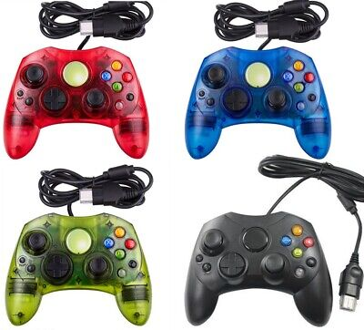 NEW XBOX S-TYPE Controller For Microsoft XBOX Original Wired Free Shipping