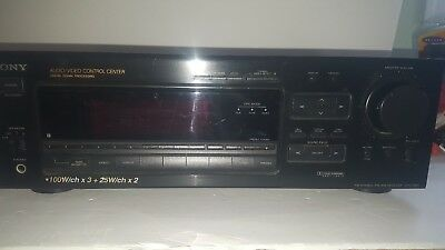 SONY STR-D865  Stereo a/v Receiver  In Working Condition.