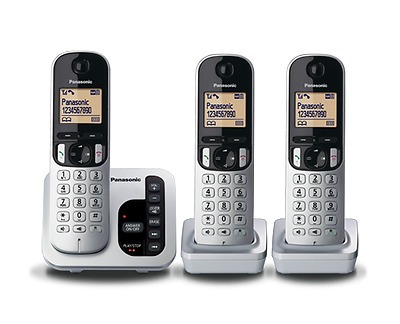 Panasonic Dect 6 Digital Cordless Triple Handset Answering System  Kx-Tgc223Als