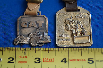 Caterpillar Lot of 2 Vintage Watch Fobs with Straps