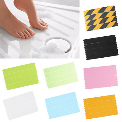 12Pcs Practical Non-slip Bath Stickers Shower Strip Pad Flooring Safety Tape