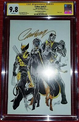 X-Men Gold 1 J Scott Campbell Cgc Ss 9.8 Signed Variant Cover C Nm Mint 2017