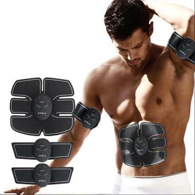 Muscle ABS Fit Training Belt Gear Abdominal Body Home Exercise Shape Fitness Abs