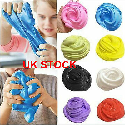Plasticine Clay Mud Toyfluffy Slime Putty Scented Diy Floam Autism Stress Slime1