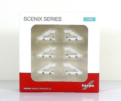 Herpa Wings Airport accessories: Passenger Stairs - Set of 6 1:500 (530507)