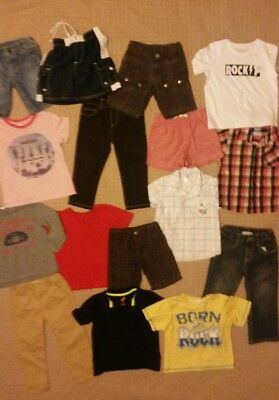 Boys clothes size 2 bulk pack with 16 items inc ..Sprout and Country Road