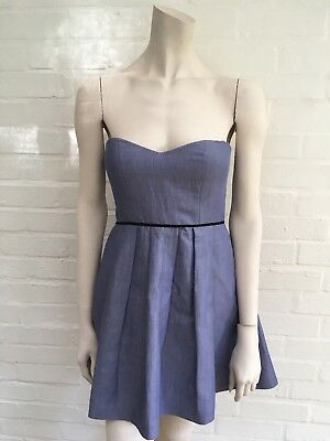 bb5276ab385a JASMINE DI MILO Strapless A-Line Dress Size Uk 8 Us 4 Eur 36 S Small ...
