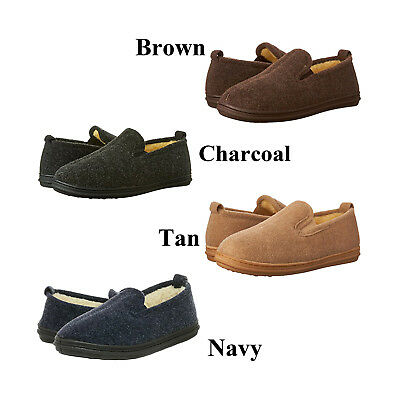 Slippers International Men's Perry 400P Indoor/Outdoor Loafer Moccasin Slippers
