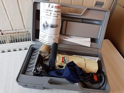 Axminster biscuit Jointer Joiner - Never Used - 700w 240V Made in UK SLB9100N