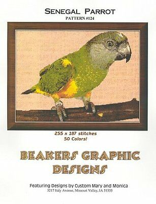 SENEGAL PARROT Counted Cross Stitch detailed #0124