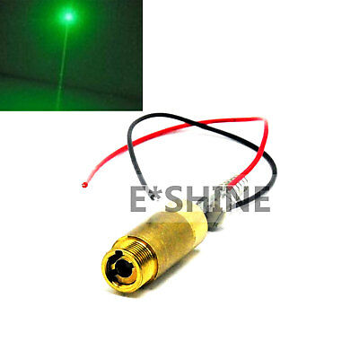 532nm 3.7-4.2V Green Laser 100mW Dot Module Diode Laser 12x34mm