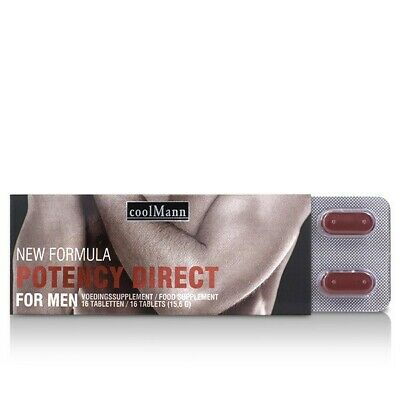 CoolMann Male Potency Direct (16 tabs)