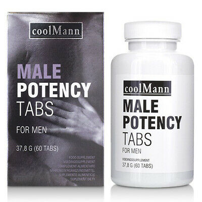 CoolMann Male Potency Tabs (60 tabs) - Sexual Stimulant For Men