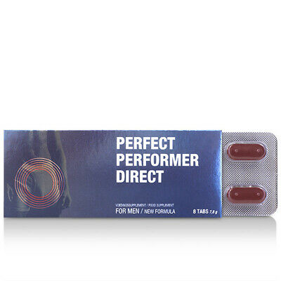 Cobeco Perfect Performer Direct (8 tabs) Sexual Stimulant For Men / New Formula