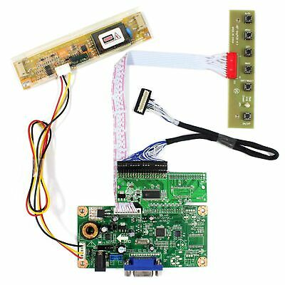 "VGA LCD Controller LCD Driver Board Work for 8.4"" AA084VC03 640x480 LCD Display"