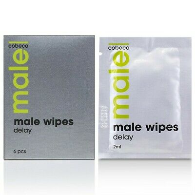 MALE Delay Wipes (6 stuks)