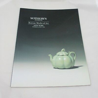 Sotheby's Auction Catalogue - Korean Works of Art 1994