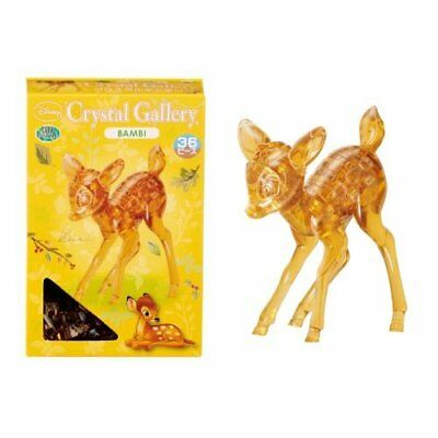 3DCRYPUZ-30988 3-D Licensed Crystal Puzzle-Bambi