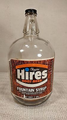 Vintage Hires Root Beer Rootbeer 1 Gallon Glass Bottle - COOL!