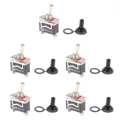 5pcs SPST On Off Toggle Switch Car Automotive Circuit Control High Quality