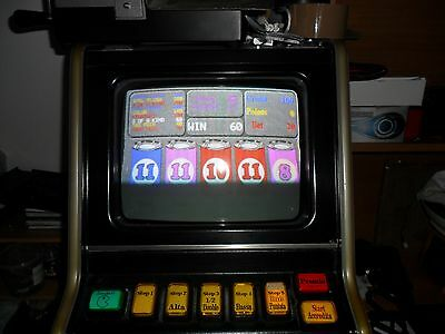 Cabinato Video Slot Machine   con  2 schede  1 magic 10 rara