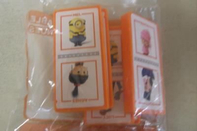 Mcdonald's Happy Meal Toy-Despicable ME 3-Despicable Dominoes-New In Packet