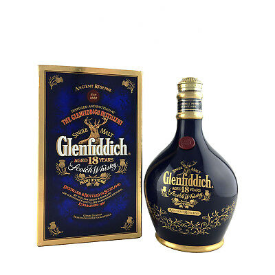 Glenfiddich 18 Year Old Ancient Reserve Single Malt Scotch Whisky 700ml 43%