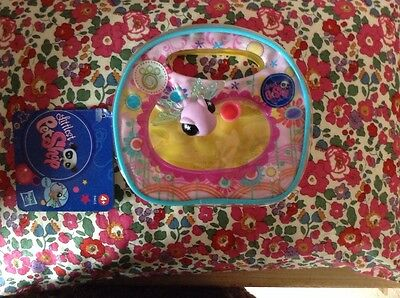 Littlest Pet Shop  DRAGONFLY PURSE/TOTE 1543 With Cup